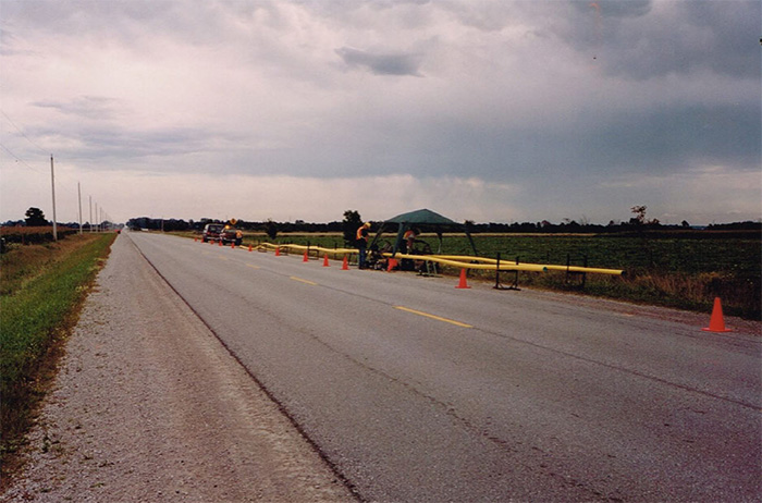 Northern Cross Pipeline Construction